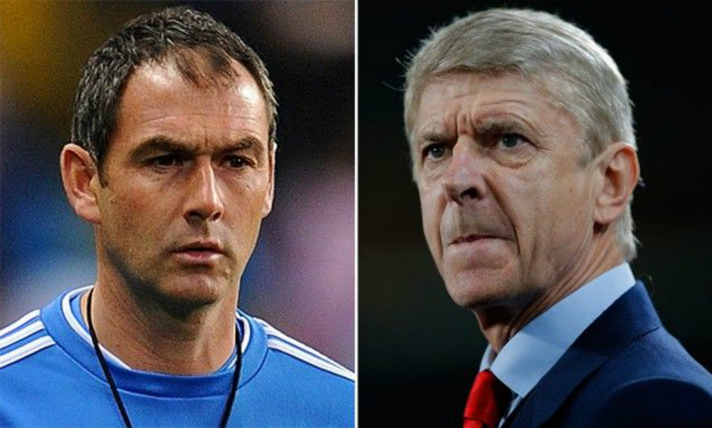 Paul Clement vs Arsene Wenger
